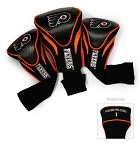 Philadelphia Flyers Golf Headcovers Set of Three