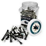 San Jose Sharks NHL Golf Tees 175 Pack