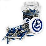 Vancouver Canucks NHL Golf Tees 175 Pack