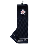 Winnipeg Jets Embroidered Golf Towel