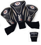 Winnipeg Jets Golf Headcovers Set of Three