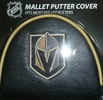 Vegas Golden Knights Mallet Putter Cover