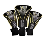 Vegas Golden Knights Golf Headcovers Set of Three