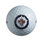 Winnipeg Jets Single Logo Golf Ball