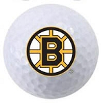 Boston Bruins Single Logo Golf Ball