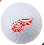 Calgary Flames Single Logo Golf Ball
