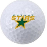 Dallas Stars Single Logo Golf Ball