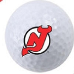 New Jersey Devils Single Logo Golf Ball