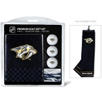Nashville Predators Embroidered Towel Golf Gift Set
