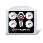 Detroit Red Wings 4 Ball Divot Tool Golf Gift Set