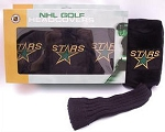 Dallas Stars Plush Golf Headcovers Set of Three