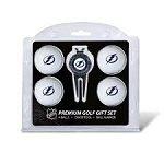 Tampa Bay Lightning 4 Ball Divot Tool Golf Gift Set