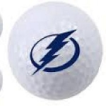 Tampa Bay Lightning Single Logo Golf Ball