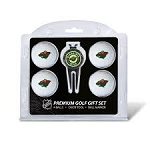 Minnesota Wild 4 Ball Divot Tool Golf Gift Set