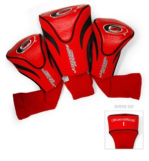 Carolina Hurricanes Golf Headcovers Set of Three