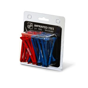 New York Rangers NHL Golf Tees 50 Pack
