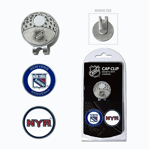 New York Rangers Golf Hat Clip
